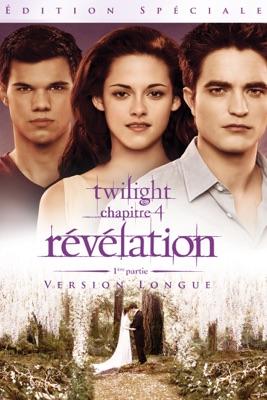 Twilight : Chapitre 4 - Révélation - 1ère Partie (Version Longue) en streaming ou téléchargement