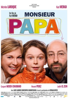 Jaquette dvd Monsieur Papa