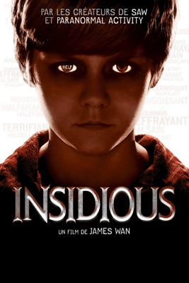 Jaquette dvd Insidious (VF)