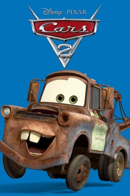 Jaquette dvd Cars 2