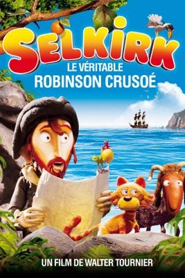 Jaquette dvd Selkirk Le Véritable Robinson Crusoé