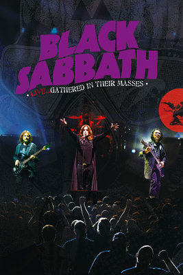 DVD Black Sabbath: Live - Gathered In Their Masses