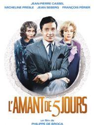 DVD L'amant De Cinq Jours