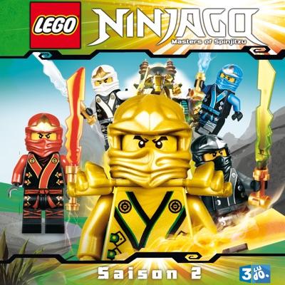 jaquette lego ninjago saison 2