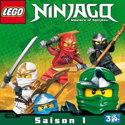jaquette lego ninjago saison 1