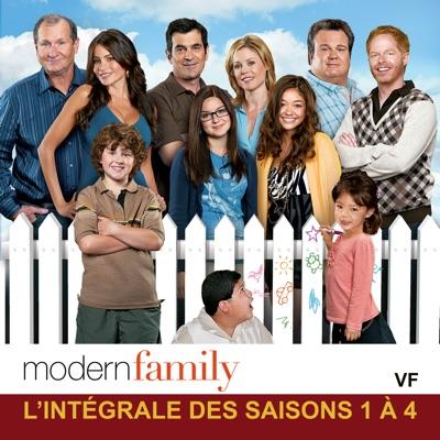 Jaquette Modern Family, L\u0027intégrale des Saisons 1 à 4 (VF)