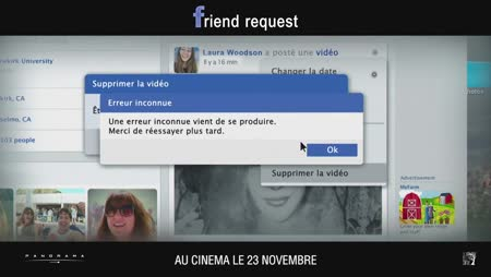 Voir Friend Request en streaming